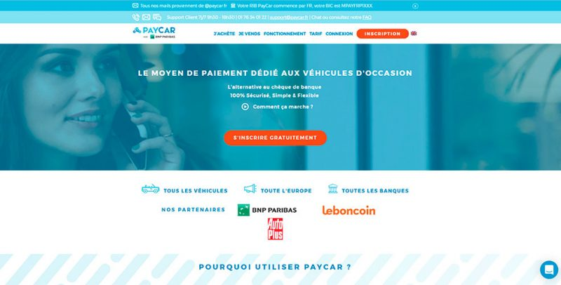 paycar capture du site