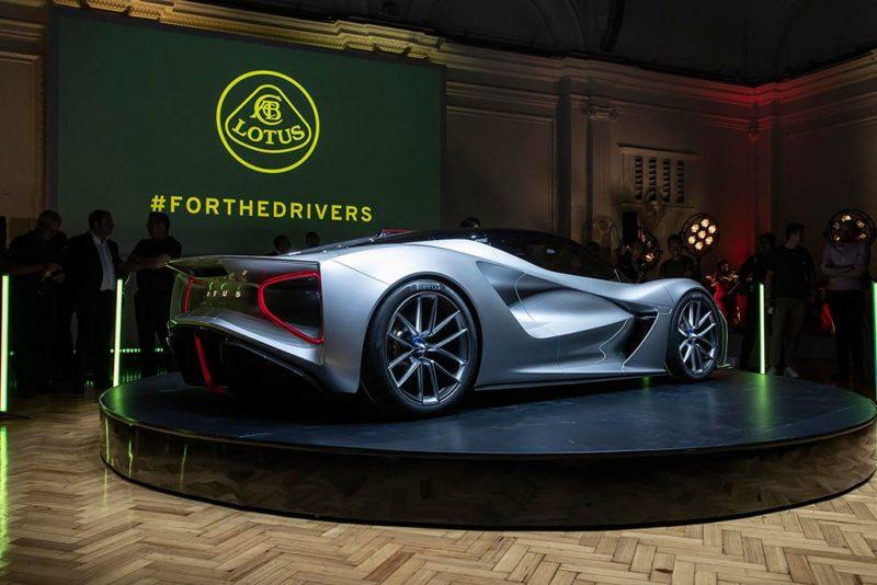 Lotus Evija - présentation juillet 2019