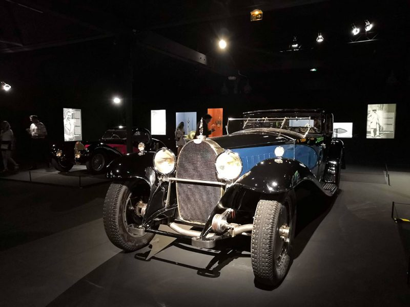 "Exposition ""incomparables Bugatti"" - Cité de l'automobile de Mulhouse"