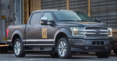 Ford F-150 pick-up prototype 100% électrique