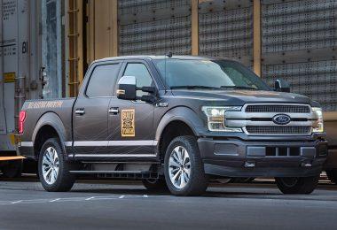 Ford F-150 pick-up prototype 100% électrique