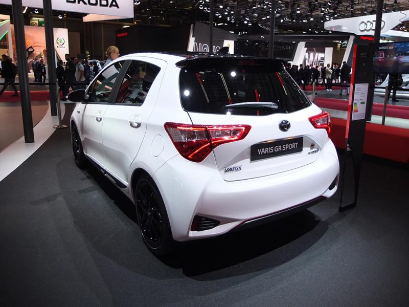 Toyota Yaris GR Sport (100ch) - Mondial Auto Paris 2018