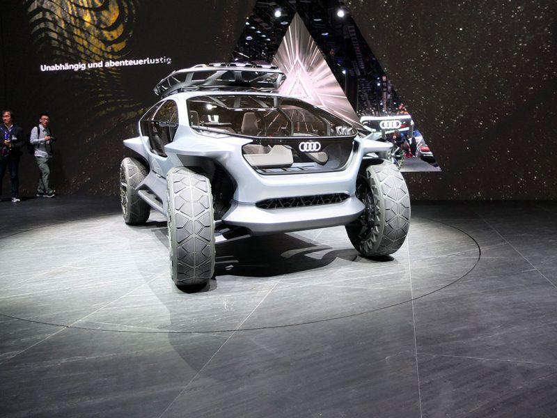 iaa 2019 - Audi AI:TRAIL