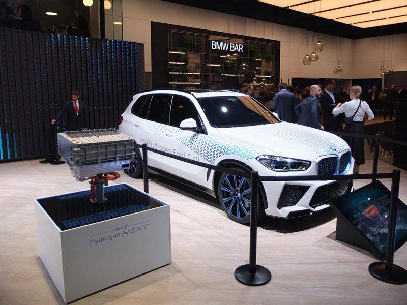 BMW full-cell hydrogène - IAA2019