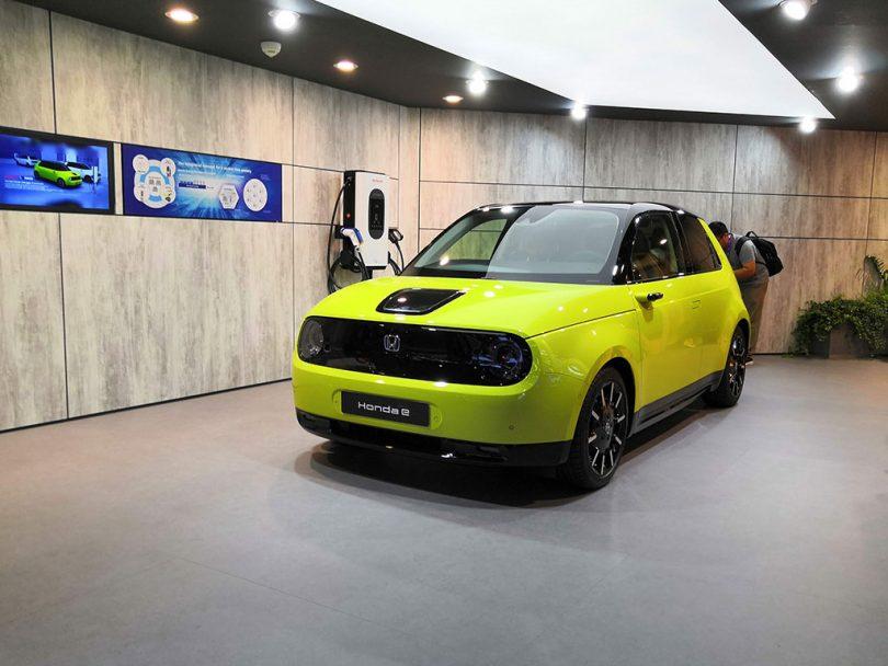 Honda E - IAA 2019