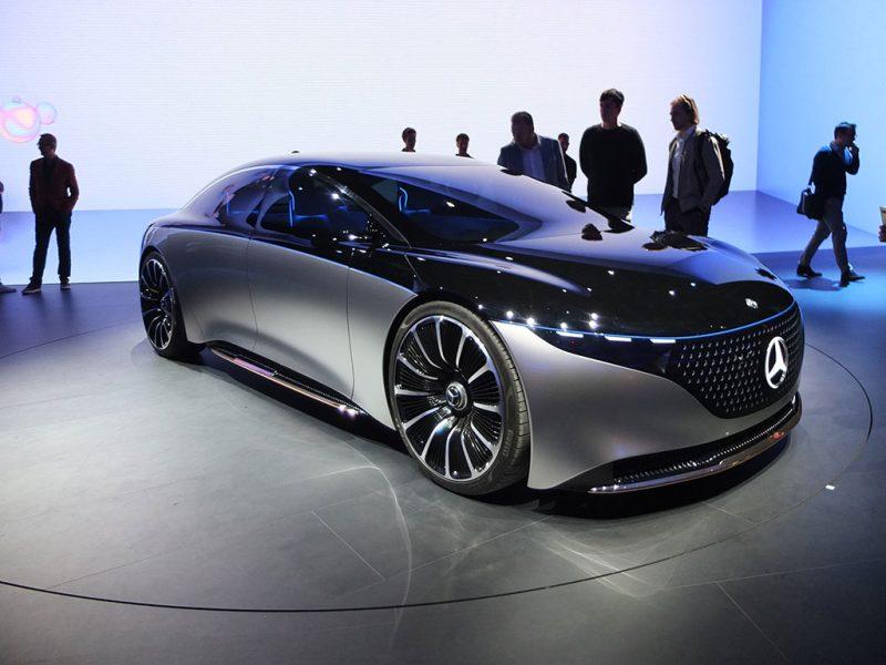 iaa 2019 - Mercedes concept EQS
