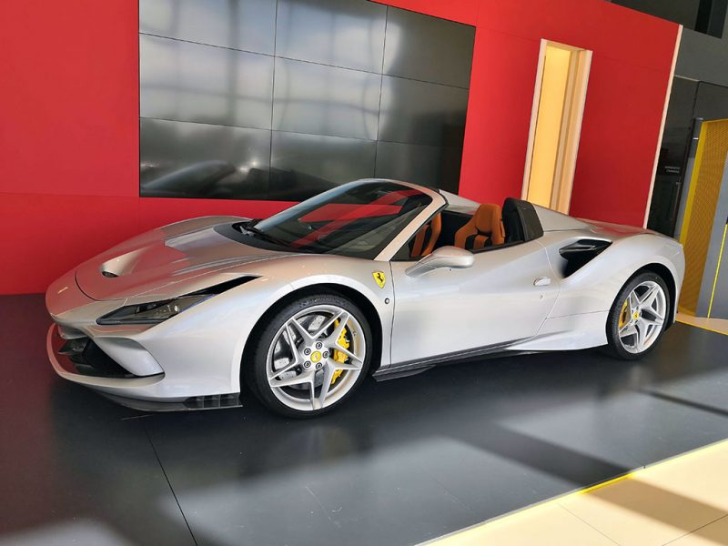 Ferrari F8 Spider - concession Ferrari SF Grand Est Sausheim