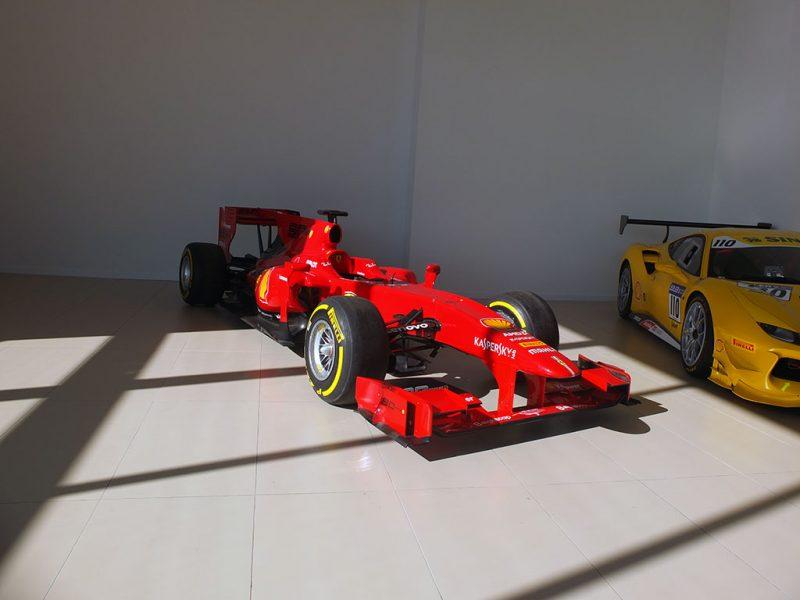 Ferrari espace historique - concession Ferrari SF Grand Est Sausheim