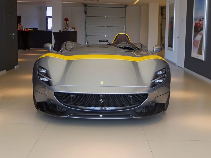 Ferrari Monza SP1 - concession Ferrari SF Grand Est Sausheim