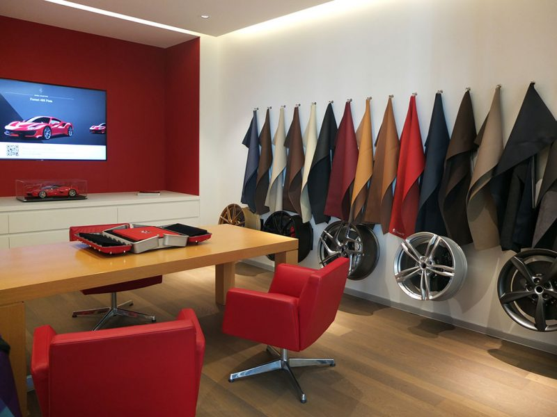 espace Tailor Made - concession Ferrari SF Grand Est Sausheim