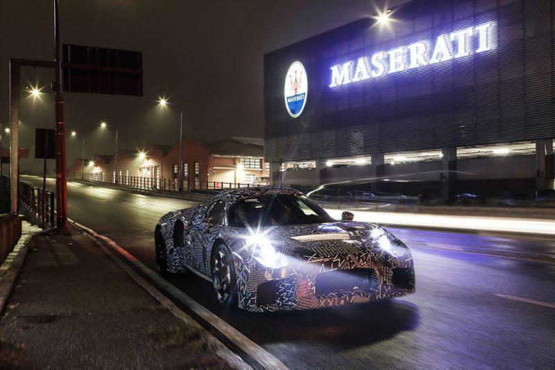 Mulet maserati nouveau moteur à modene