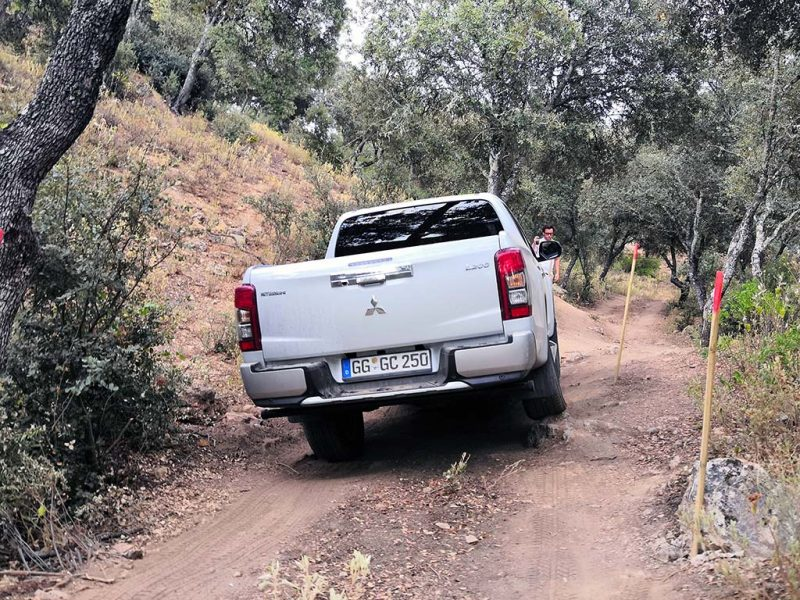 Mitsubishi L200 essai pick-up off-road