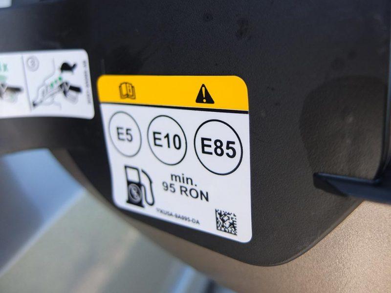 flex-fuel e85 e10