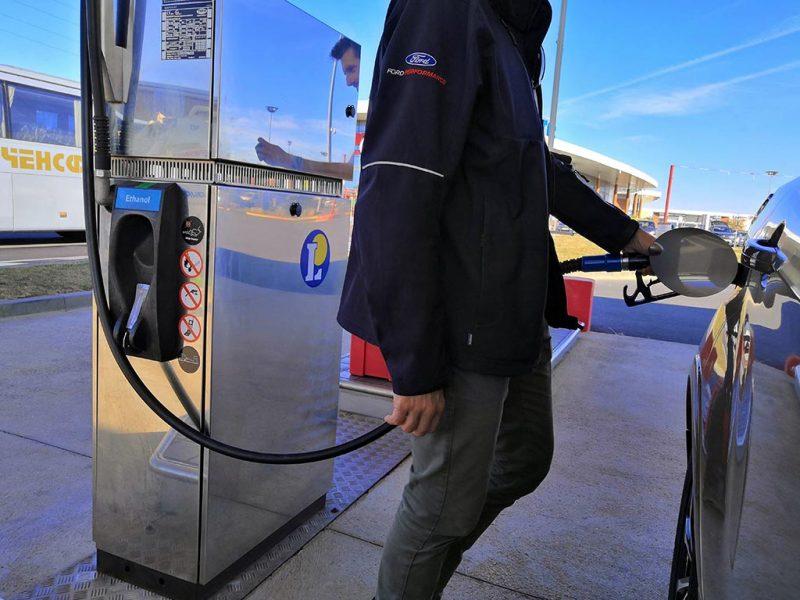 station ethanol e85