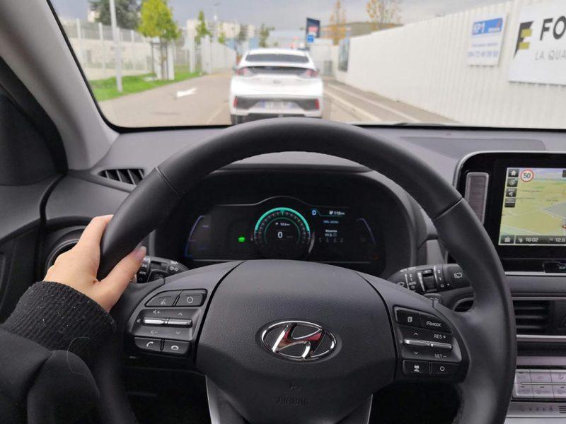 Hyundai KONA electric intérieur