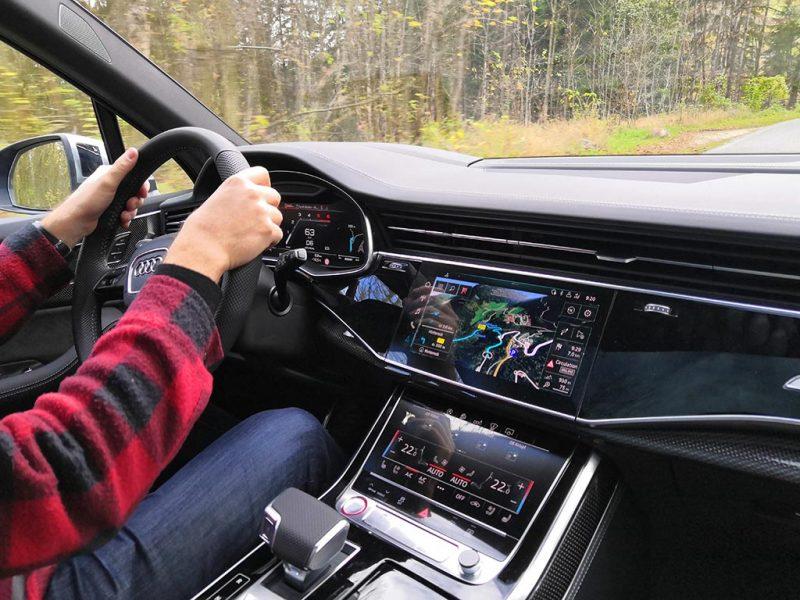 Audi SQ7 2020 - intérieur