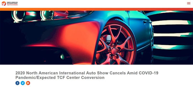 naias 2020 cancelled
