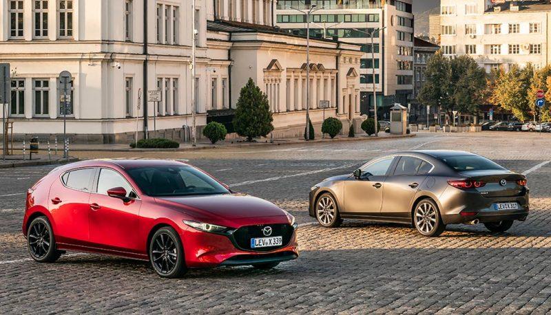 Mazda 3 berline vs 5 portes - Skyactiv-X