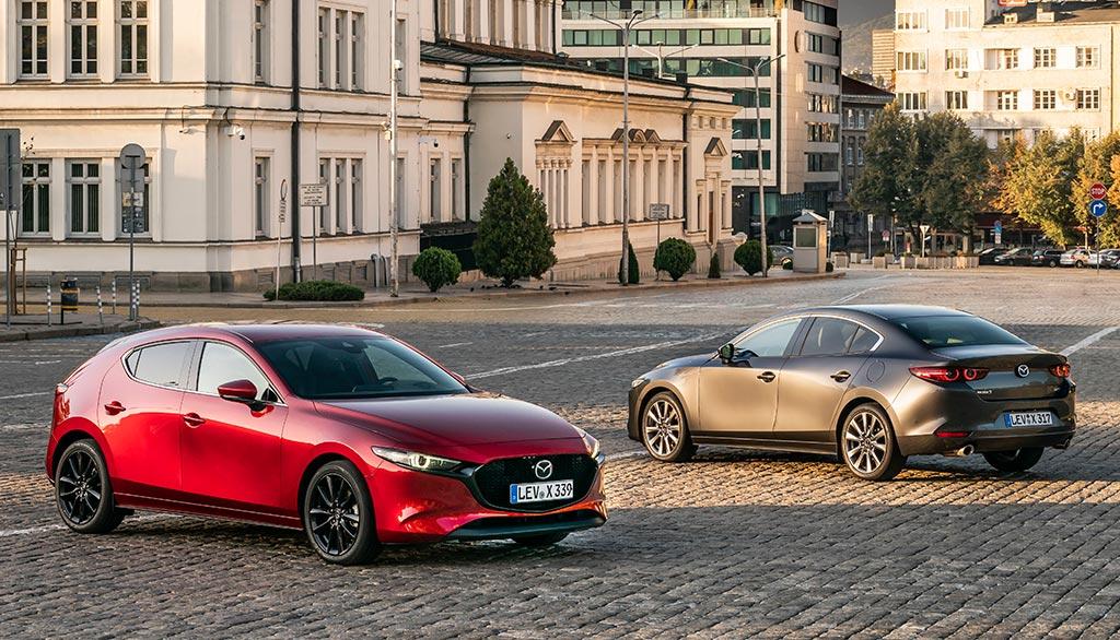 Essai de la Mazda 3 et de sa motorisation Skyactiv-X