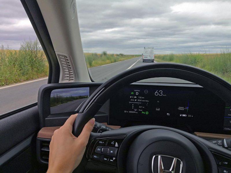 Essai Honda-e