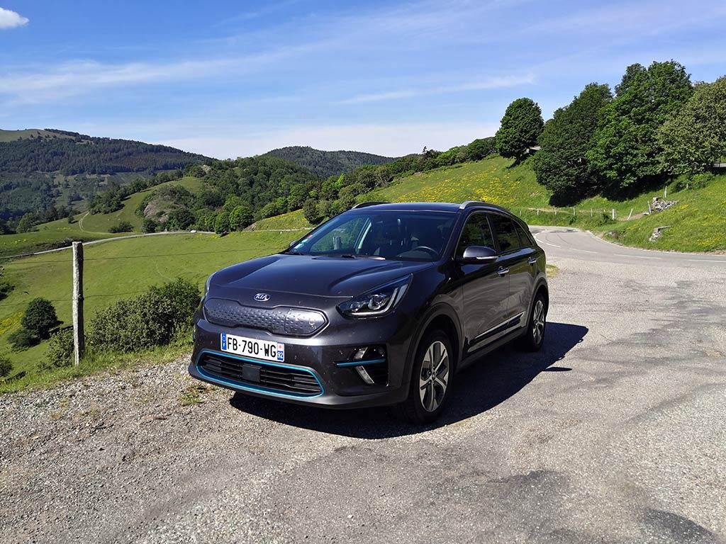 Kia e-Niro : SUV compact naturellement efficient