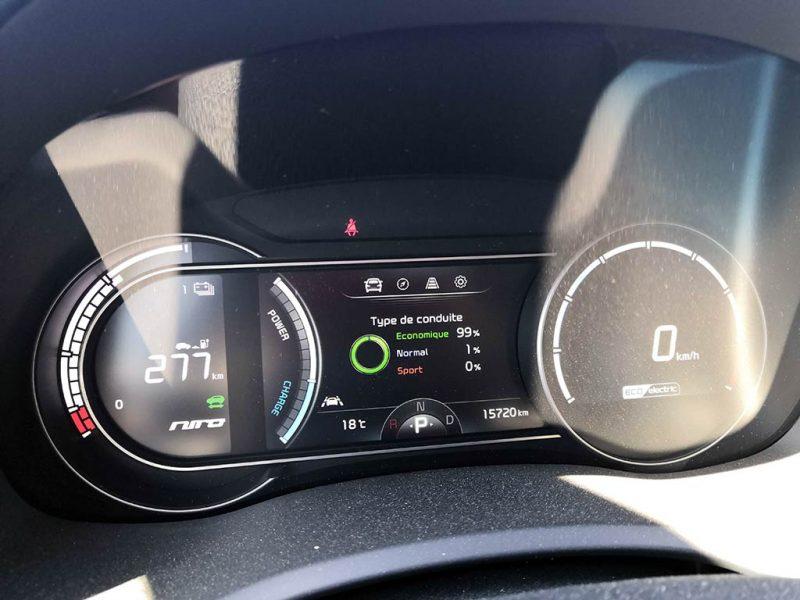 essai Kia e-Niro 64 kWh conso