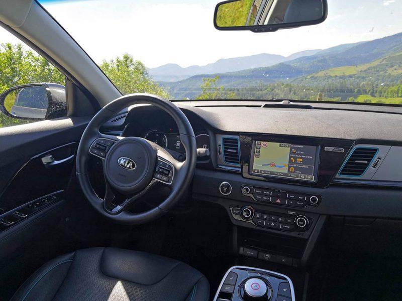 essai Kia e-Niro 64 kWh intérieur
