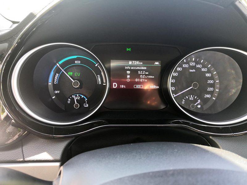 Kia Ceed SW PHEV test écoconduite 100% électrique