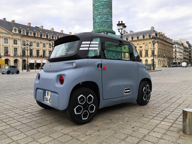 Essai Citroën AMI
