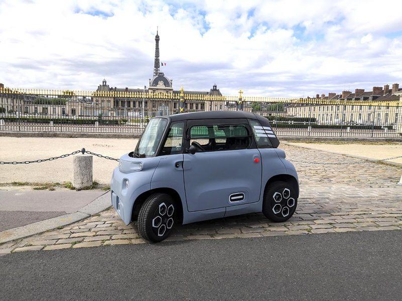 Essai Citroën AMI aux invalides