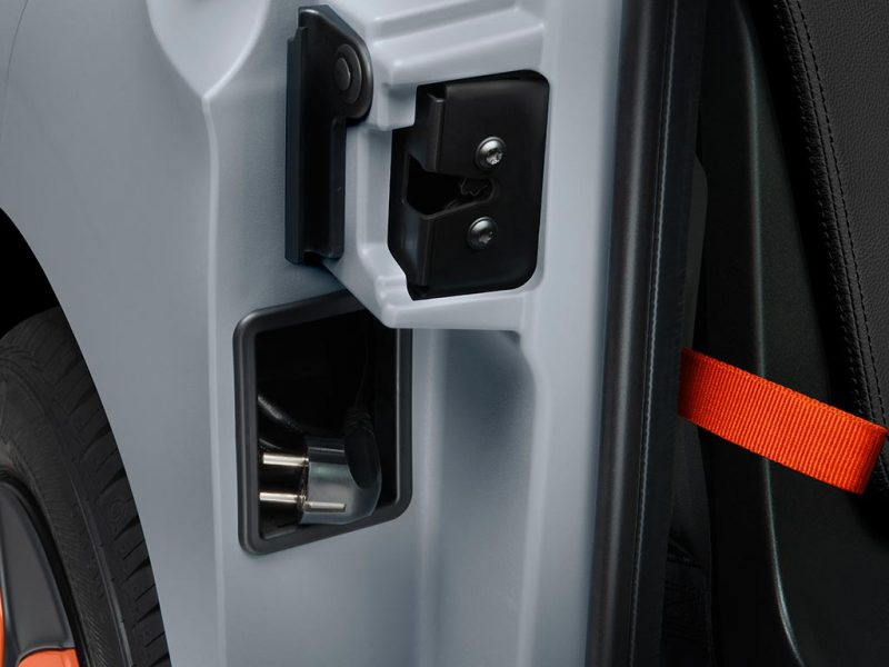 Citroën AMI - prise de recharge