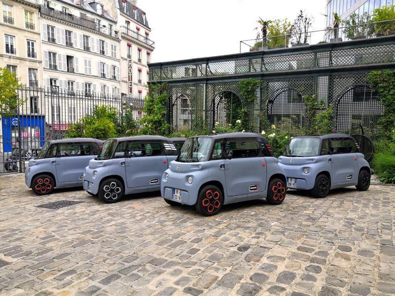 Essai Citroën AMI - my AMI en différentes couleurs