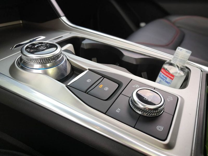 Essai Ford Explorer PHEV - intérieur