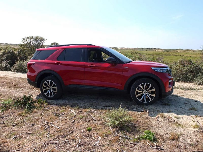 Essai Ford Explorer PHEV - off-road domaine du marquenterre
