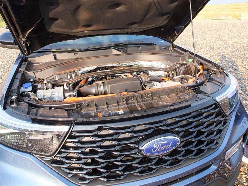 Essai Ford Explorer PHEV - moteur