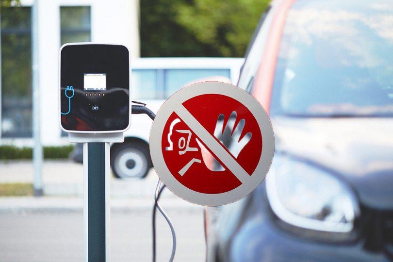 stop electric car
