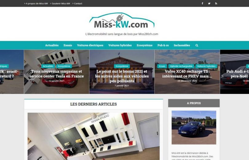 capture du site miss-kw.com