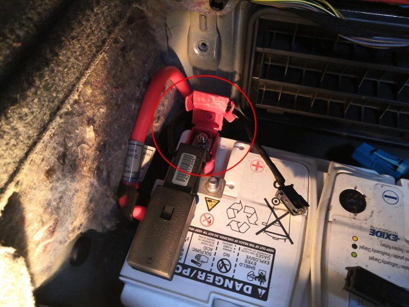 changement batterie bmw etape 5