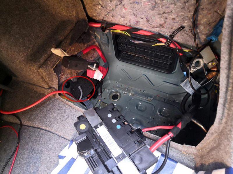 changement batterie bmw etape7
