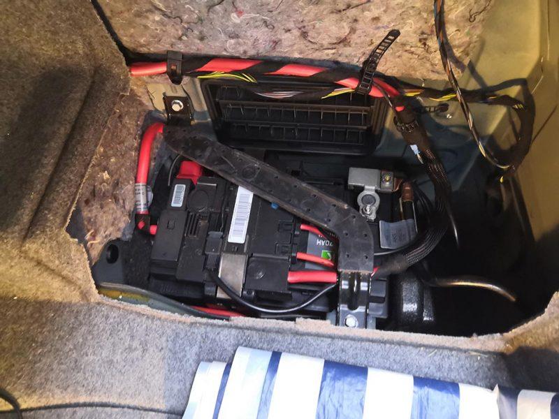 changement batterie bmw etape 9
