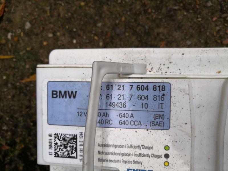 ref batterie bmw e90