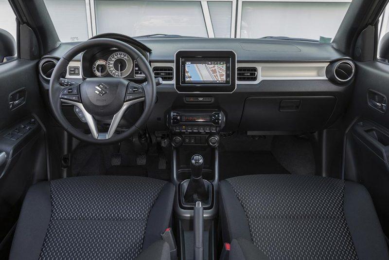 essai du Suzuki Ignis 2020 - intérieur