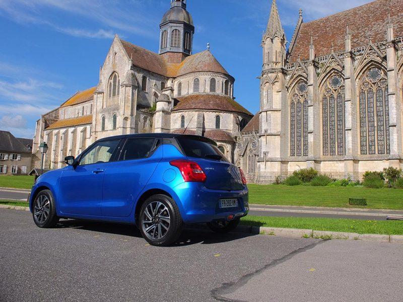 essai de la Suzuki Swift 2020
