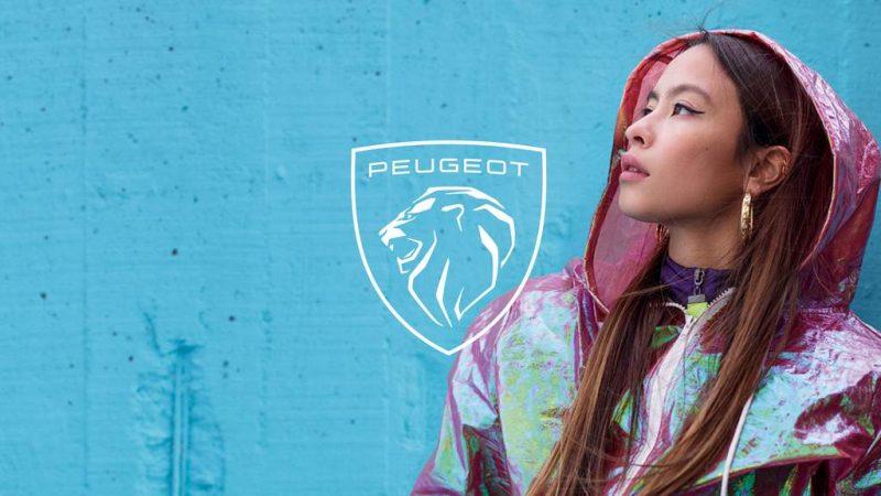 Peugeot new logo lifestyle