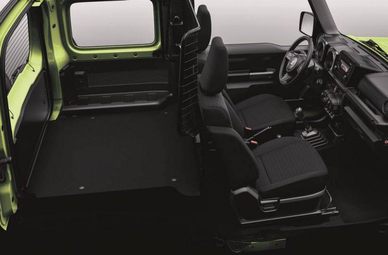 Suzuki Jimny VU - coffre