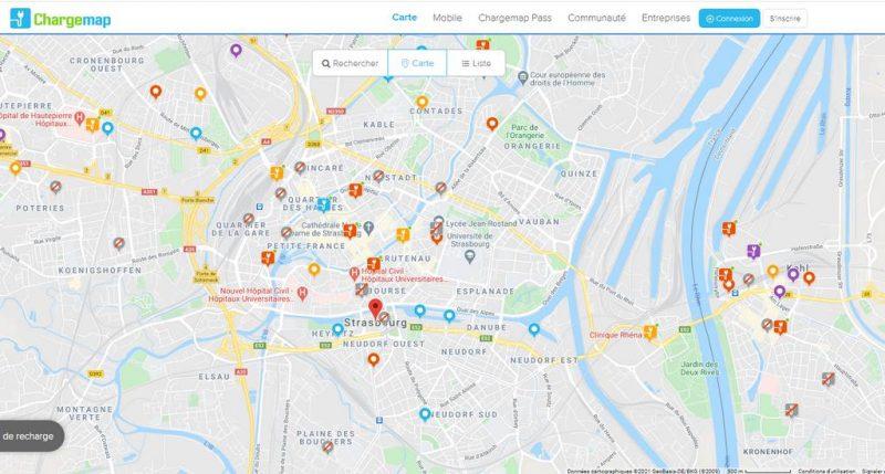 chargemap strasbourg fev2021