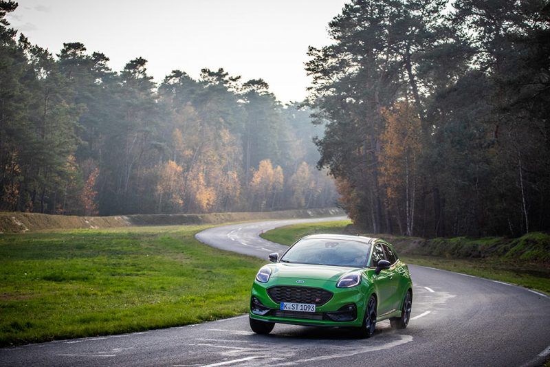Essai Ford Puma ST - circuit mortefontaine