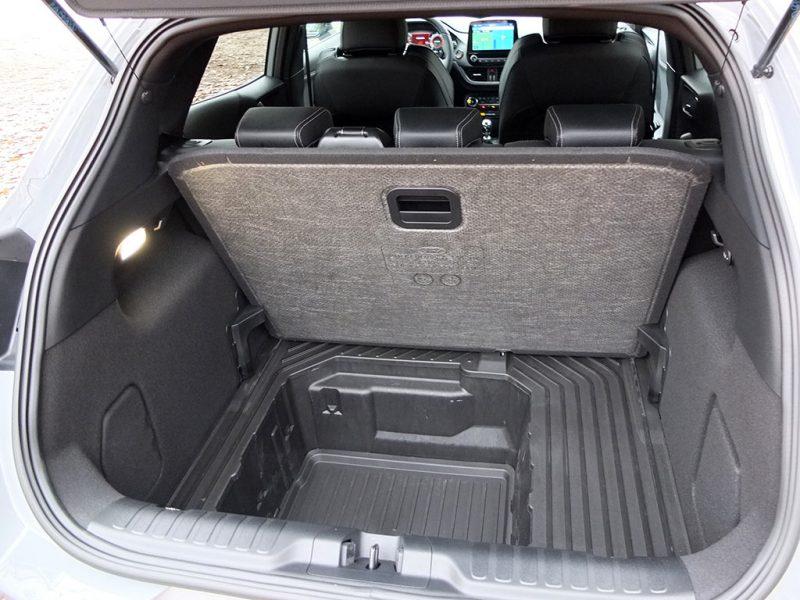 Essai Ford Puma ST - coffre + megabox