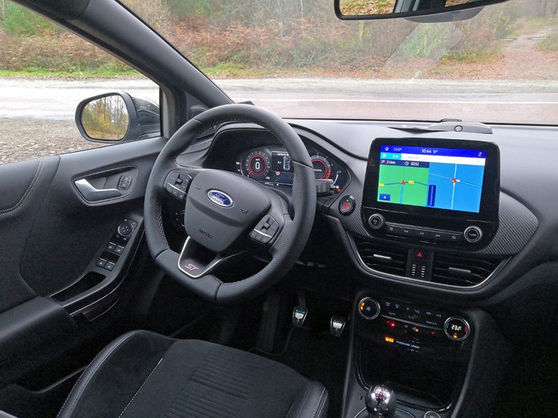 Essai Ford Puma ST - intérieur