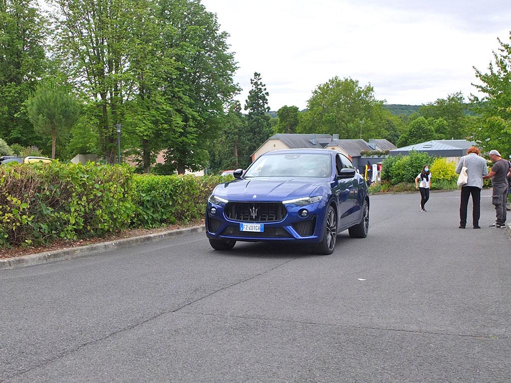 Quelques minutes au volant du Maserati Levante GTS